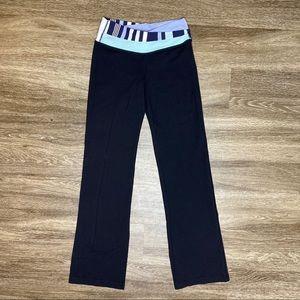 Women's Lululemon Flare Yoga Pants Black Size 6